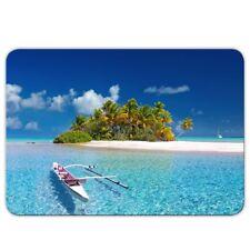 "XXL Gamer apuri ""island"" - 40x28cm-Gaming alfombrilla de mouse-océano-Playa"