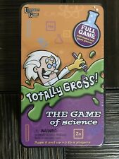 Totally Gross - The Game of Science - new in Tin ages 8 + up Univeristy Games