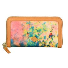 Oilily Big Bang L Zip Wallet Geldbörse Multicolor Braun Blau Neu