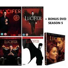 LUCIFER SEASON 1 2 3 4 & 5 DVD SERIES 1-5 PART 1 + FREE POST