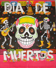 Day Of The Dead Fabric Sugar Skull Banner 10
