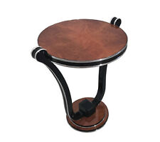 Honey Maple Art Deco Style Side Table