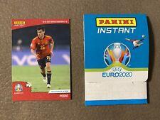 Euro 2020 Panini Instant Card #11 - PEDRI  ROOKIE BARCELONA SPAIN DEBUT
