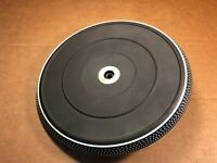 Platter w/ Rubber Mat for Dual 1257 - Turntable Parts - Works Fine