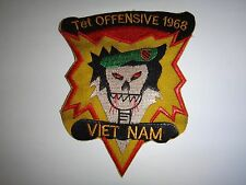 Operation TET OFFENSIVE 1968 US 5th SFGrp MACV-SOG Vietnam War Patch