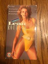 Jane Fonda's Lean Routine VHS 📼 Ships N24h