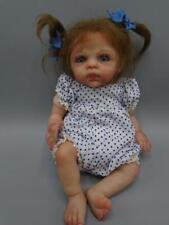 "OOAK Reborn Doll Artist Marita Winters *Nessa* Baby 10"" with Carrier Seat"