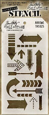 Tim Holtz Stampers Anonymous ARROWS  Stencil  THS025  new
