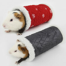 Hot Guinea Pig Tunnel Hamster Hedgehog Winter Bed House Birds Cave Simple Style