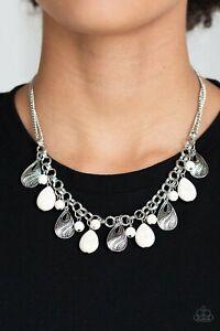 Paparazzi Accessories Wholesale Lot ~ 6pc White Stone Necklace Bracelet NWT