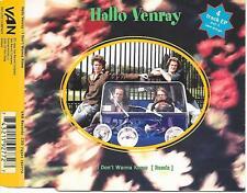 HALLO VENRAY - I don't wanna know (REMIX) CDM 4TR HOLLAND 1994 RARE!