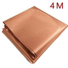 .EMF/RFID/RF Shielding Copper Fabric Roll - 43 X 14 Of Material 10kHz-30GHz.