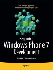 Beginning Windows Phone 7 Development (books For Professionals By Professiona...