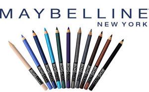 MAYBELLINE Color Show Eye Khol EyeLiner Pencil  - CHOOSE SHADE - NEW