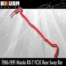 For MAZDA RX-7 RX7 FC3 Rear ANTI ROLL SWAY STABILIZER BAR 86-91 RED 18mm