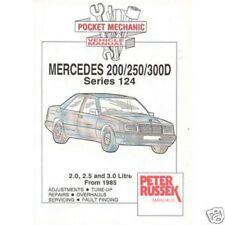 Mercedes Benz W124 diesel series '85 on - Russek manual