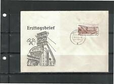 Ersttag FDC mit MiNr. 570 Jahrgang 1957 Beleg DDR gestempelt Muskau