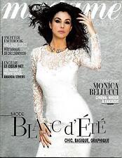 MADAME FIGARO n°21454 26/07/2013  Monica Bellucci/ Mode Blanc d'été/ A.Sthers