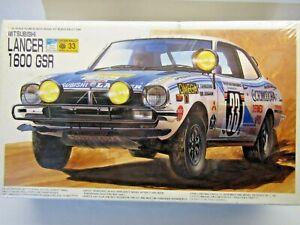 Fujimi 1:20 Scale Mitsubishi Lancer 1600 GSR 1976 Safari Rally Model Kit Sealed