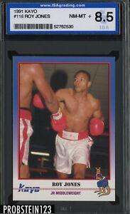 1991 Kayo Boxing #116 Roy Jones Jr Middleweight ISA 8.5 NM-MT+