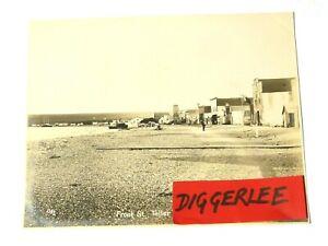 """1904 Front Street Teller Alaska ORIGINAL Nowell Sepia Photograph 10x8"""" #1103"""