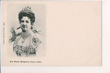 Vintage Postcard Princess Margherita of Savoy Queen of Italy