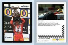 Senna / RSM #151 Formula 1 Pro Trac's 1991 Premier Racing Card