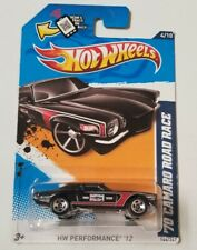 '70 Camaro Road Race 2012 Hot Wheels * Black * NIP 1:64 Scale