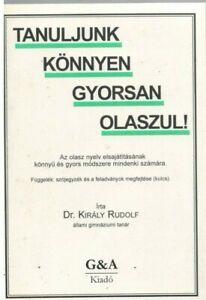 Tanuljunk konnyen gyorsan olaszul, hungarian textbook 4 learning italian, 1997