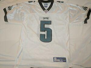 Donovan McNabb Philadelphia Eagles Reebok On Field Sewn Jersey #5 Size Large