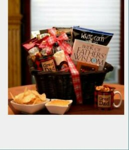 Father's day gift basket he's A great dad gift basket