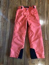Boys/Girls  ZIENER Snow Ski Pants Orange  Color  Euro Size 152  (US Sz 12)