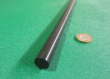 "Acetal Delrin POM Round Rod, Black 9/16"" (.562"") Dia x 60"" Length, 2 Unit"