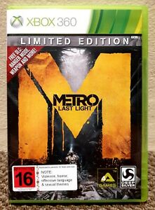 METRO: LAST LIGHT • LIMITED EDITION • XBOX 360 (PAL) • PRE-OWNED / EXCELLENT