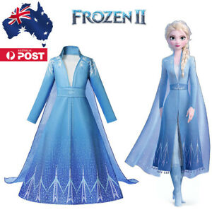 Elsa Dress 3 Pieces Costume Princess