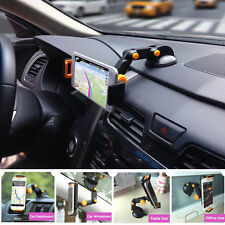 Car Dash Suction Mount Holder Stand Cradle For 4.5-9.7 inch Phone iPad Tablet