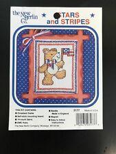 Cross Stitch Pattern: Stars and Stripes Bear (Pattern Only) New Berlin
