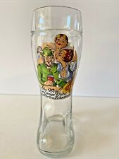 German Glass Beer Drinking Boot