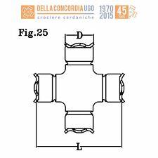 CROCIERA CARDANICA 24x63,10 FIAT PANDA 4X4 - CR 459