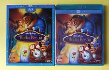 LA BELLA E LA BESTIA SLIPCASE WALT DISNEY BLURAY