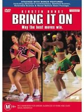 BRING IT ON DVD - KIRSTEN DUNST |  Region 4 | Legit RARE OOP / Cheerleading !!