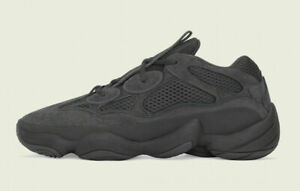 Adidas Yeezy 500 Shoes Utility Black Shoes F36640 NEW