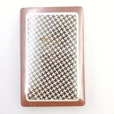 Vintage Deck of Trump Playing Cards ~ Sealed ~ Hounds Tooth Pattern
