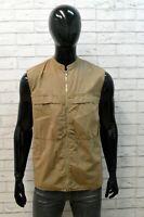 Cappotto Giacca Uomo Calvin Klein Taglia L Jacket Man Giubbotto Smanicato Cotone