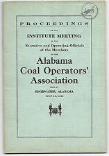 New listing 1915 alabama coal operators association; dynamite blasting explosions Edgewater