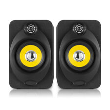 "XP40 Active Powered Studio Monitor Speakers 4"" Media Desktop DJ Producer (Pair)"