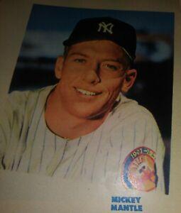 1954 Feb Sport Magazine Ed Mathews Milwaukee Braves incl Mickey Mantle color pic