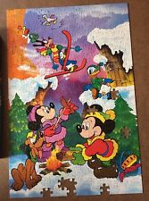 Disney's jigsaw puzzle, Minnie Mickey mouse, 400 pieces, incomplete