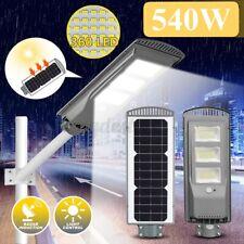 540W 360LED Solar Power Street Light PIR Motion Sensor Outdoor Garden Wall Lamp