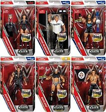 WWE SERIE ELITE 50 ALL 6 COMPLETO LOTE WWF LUCHA LIBRE MATTEL ACCIÓN FIGURA